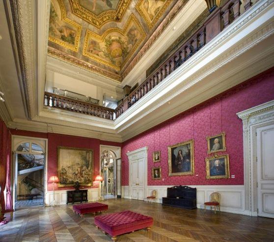 Musée Jacquemart-André. Salon de musique
