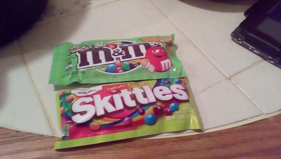 Got new sweets and sour  skittles and new crispy MnM's!