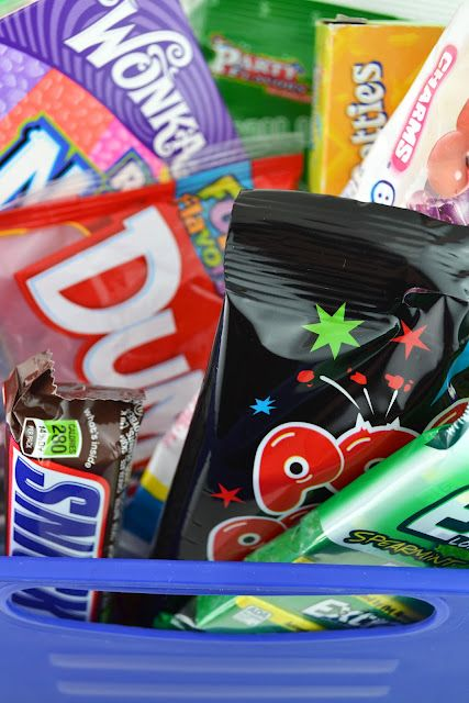 How to say goodbye to a co-worker --> A Candy Survival Kit: