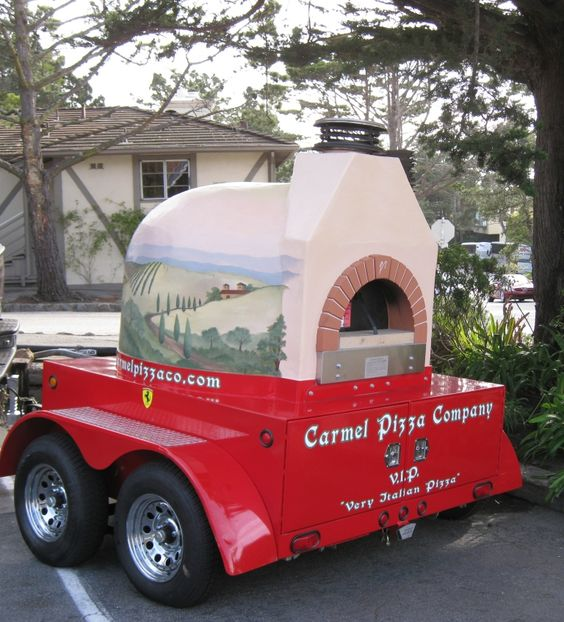 Another Mugnaini oven being operated on the West Coast