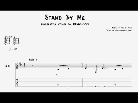 Stand By Me Tab Fingerstyle Guitar Tab Pdf Guitar Pro Youtube