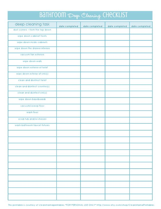 Clean Bathroom Checklist 28 Images Clean Bathroom Quotes Quotesgram Diy Bathroom Cleaning