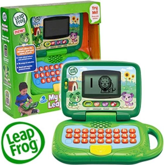 Leap Frog My Own Leaptop Kids Educational & Fun Develops Core Learning Skills 2+
