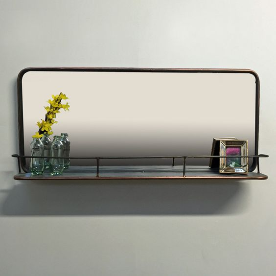 1000 ideas about industrial mirrors on pinterest. Black Bedroom Furniture Sets. Home Design Ideas