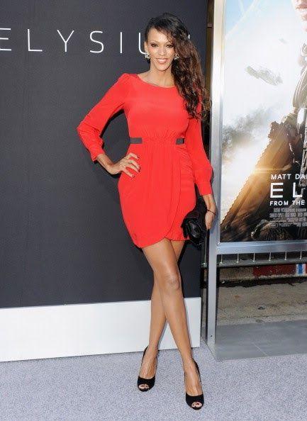 "Judi Shekoni-Premiere Of TriStar Pictures' ""Elysium"" - Star Hollywood"