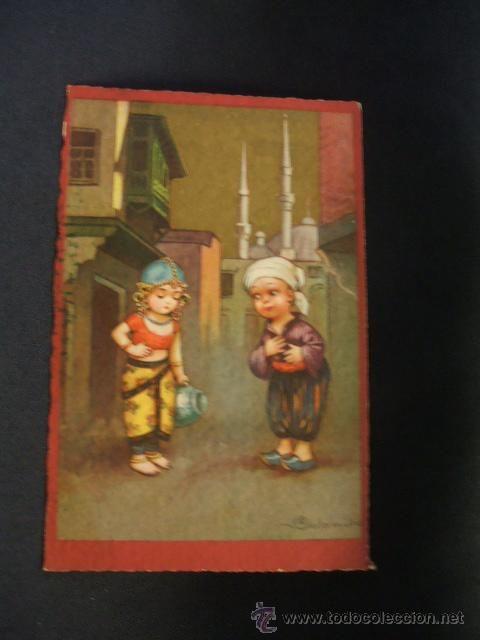 POSTAL ANTIGUA - PRODUZIONE ITALIANA - (Postales - Niños)