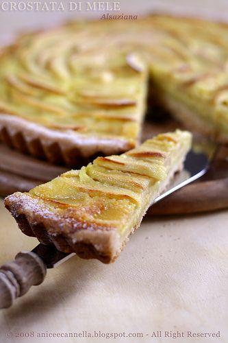 La Crostata di Mele di - Anice e Cannella- .....provata, e' deliziosa!!