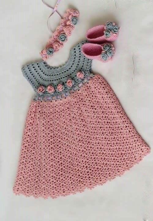 Adorables Robes Bebe Avec Ses Grilles Gratuites Modeles Pour Bebe Au Crochet Modeles De Robes Au Crochet Crochet De Fil Crochet Pour Les Filles