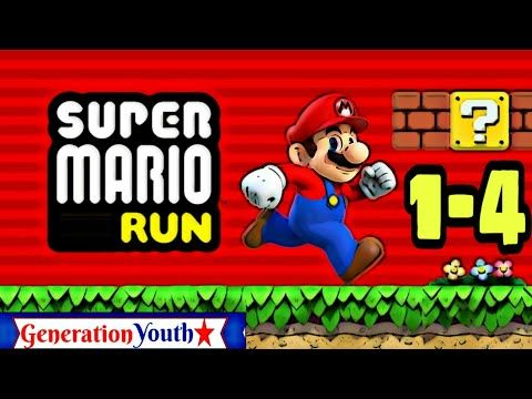 Super Mario Bros Run Mobile Game Play World 1 4 Bowser S Castle Hideout Generation Youth Youtube Mario Super Mario Bros Super Mario Run
