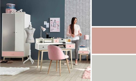 Quelles couleurs accorder pour une chambre d ado tendance for Chambre ado romantique