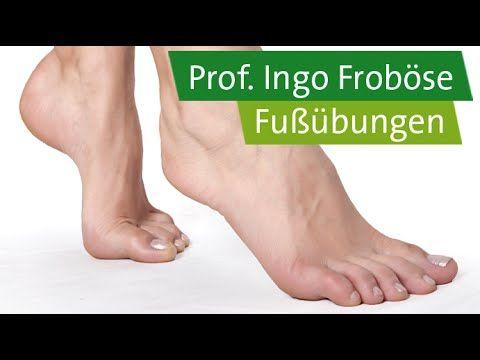5 Fußübungen - Prof. Ingo Froböse. Die falschen Schuhe sind die wohl häufigste Ursache für schmerzende Füße. Doch es gibt Abhilfe! Prof. Ingo Froböse und Fre...