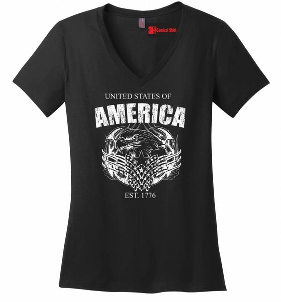 United States Of America Est. 1776 T Shirt American Pride USA Gift Tee