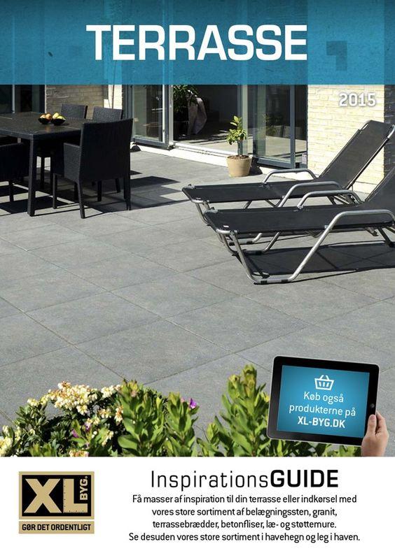 Inspiration til din terrasse, indkørsel og have. #xlbyg #guide ...