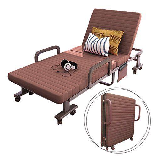 Elevens Sleep Folding Bed With Memory Foam Mattress Best Rollaway