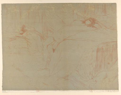 Collapsed On The Bed Culture Art Art Google Henri De Toulouse Lautrec