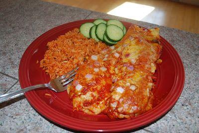 Gourmet Rooster: Pulled Pork BBQ Enchiladas
