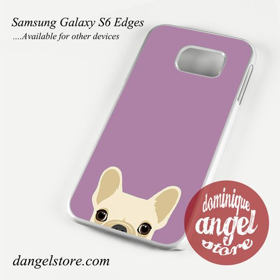 Cute French Bulldog pink Phone Case for Samsung Galaxy S3/S4/S5/S6/S6 Edge/S6 Edge Plus