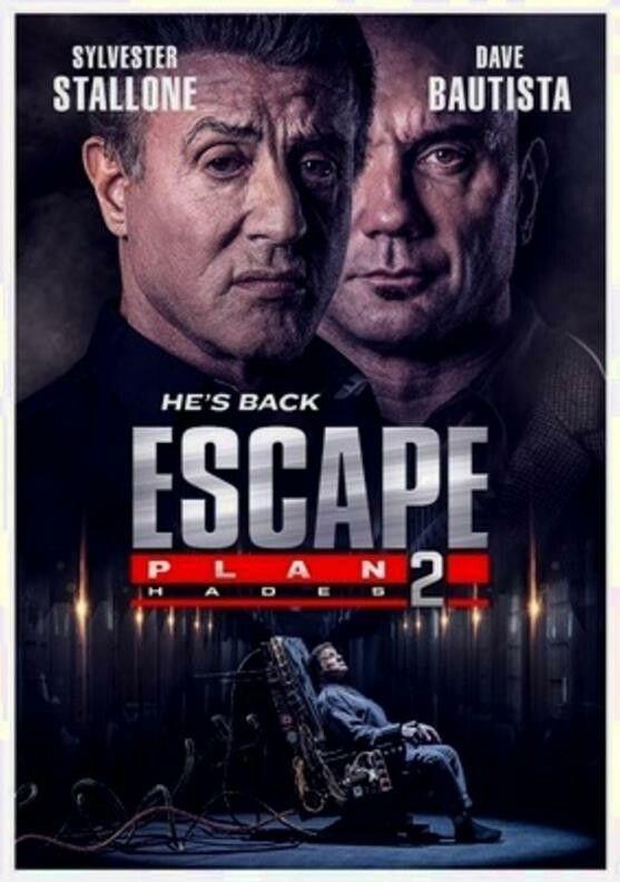 Escape Plane 2 2018 Sylvester Stallone Dave Bautista Aksiyon Filmleri Hades Film
