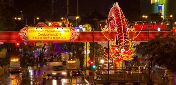 Chinatown lung linh trong ngày chào mừng năm mới