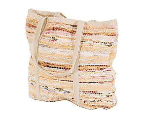 Bolso de algodón reciclado Message - multicolor