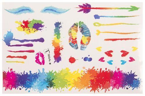 Temporäres Colored Love Tattoo in Bunt kaufen: Im Angebot nur 5,90 € ▷ Jetzt Colored Love Tattoo bei POSH Tattoo bestellen!