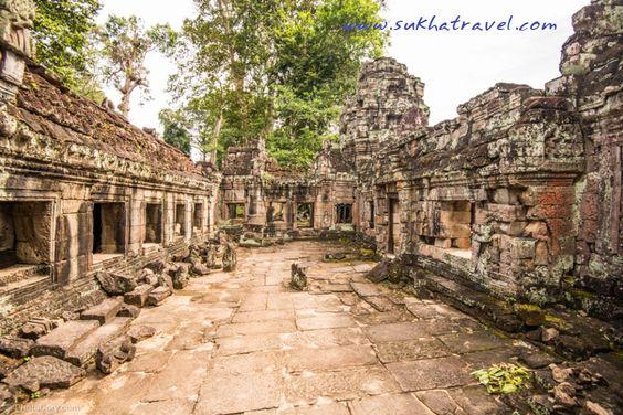 Ngôi đền mang một vẻ đẹp hùng vĩ, cổ kính