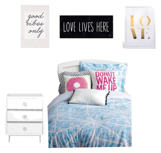 """Girls room"" by amitafhelas on Polyvore featuring interior, interiors, interior design, home, home decor, interior decorating and Keeco"