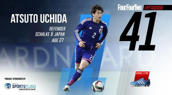 FourFourTwo's 50 Best Asian Players 2015: 45-41 | FourFourTwo