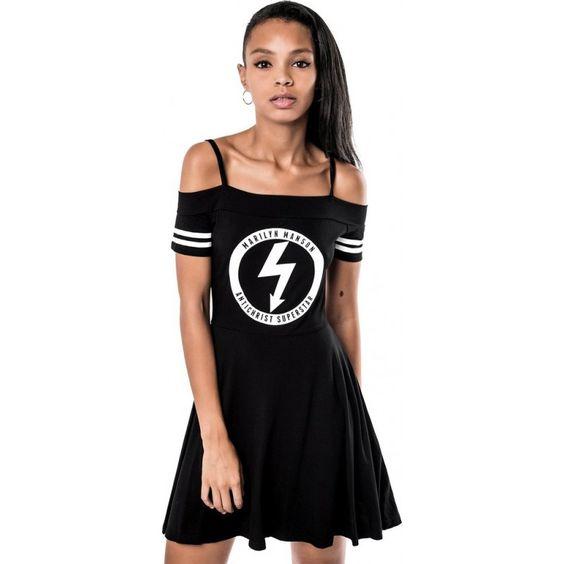 Killstar - Gloom Bardot Cheerleader Dress