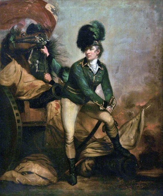 Colonel Sir Banastre Tarleton (1754–1833), Sir Joshua Reynolds, National Portrait Gallery