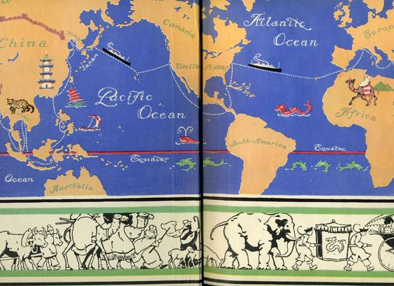 Gertrude Alice Kay / Adventures in Geography: