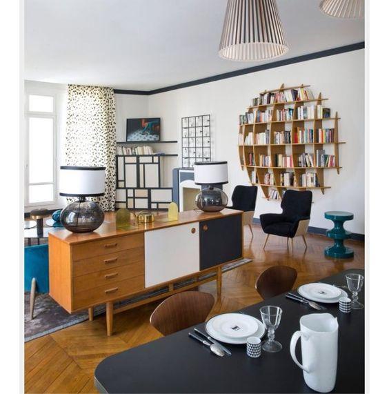 separation salon et cuisine avec meuble derriere canape - Separation Cuisine Americaine Et Salon