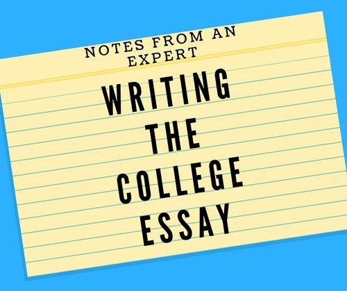 Writing The Essay Sound Advice From An Expert College
