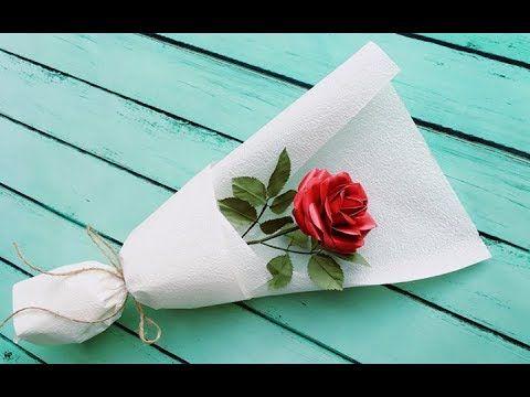 Hiasan Bunga Mawar dari Kertas Origami dan Cara Membuatnya | 360x480