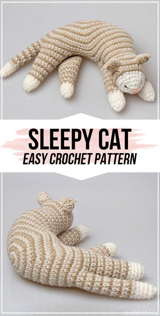 10 Quick and Easy Mini Amigurumi Patterns | Crochet cat pattern ... | 1102x560