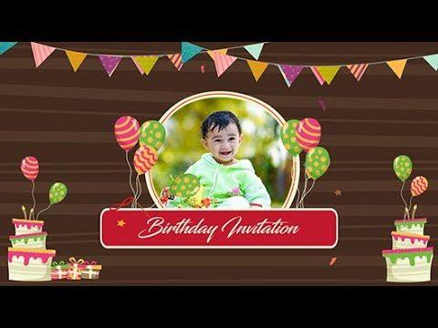 Latest Kids 1st Birthday Videoinvitations Birthday Videomaker 1st Birthday Invitations Make Birthday Invitations Create Birthday Invitations