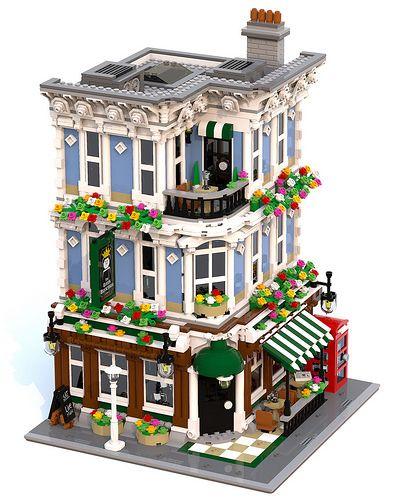 lego inspiratie - bouw een mooi huis