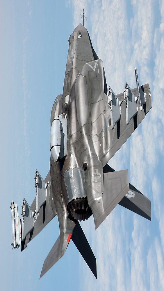F-35 máy bay thế hệ thứ 5 của Mỹ, hiện Mỹ đang nghiên cứu thế hệ thứ 6.