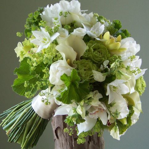 Green reception wedding flowers wedding decor wedding for Angela florist decoration