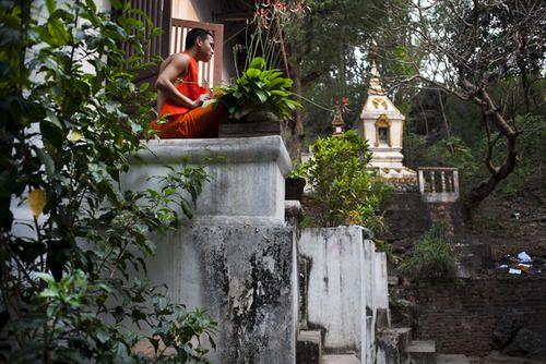 Luang Prabang,21/03/2013 fai un respiro profondo e smetti di pensare
