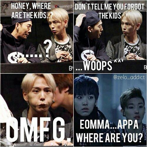 Memes De B A P 2 Woops Memes Kpop Funny New Memes