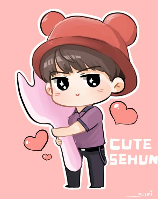 Sehun And Fanart On Pinterest