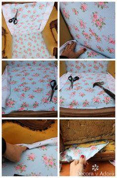 decora y adora: DIY tapizar sillón dormitorio Florencia