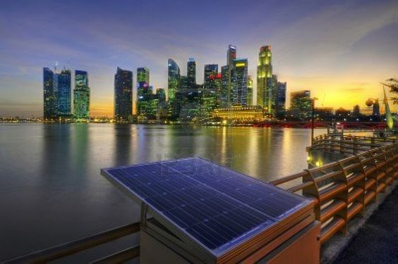 Central Business District, Marina Bay, Singapore