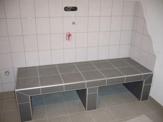 SpielkUche Holz Mit Waschmaschine ~ Podest Waschmaschine  Trockner  Ideen Haus und Garten  Pinterest