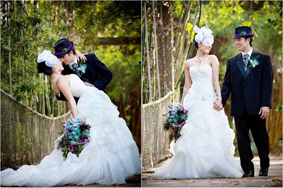 A Peacock Themed Wedding Photo Shoot - Weddingstar Blog