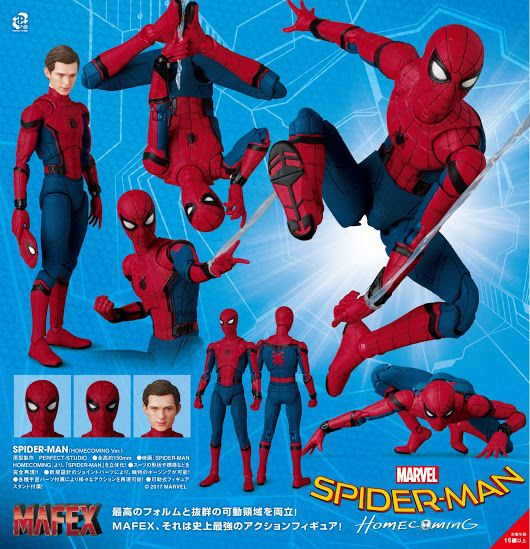 figma Amazing Spider-Man Non-Scale ABS /& PVC Painted Movable Figure