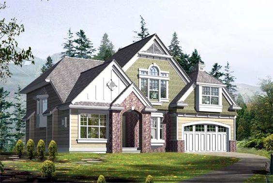 House Plan chp-39244 at COOLhouseplans.com