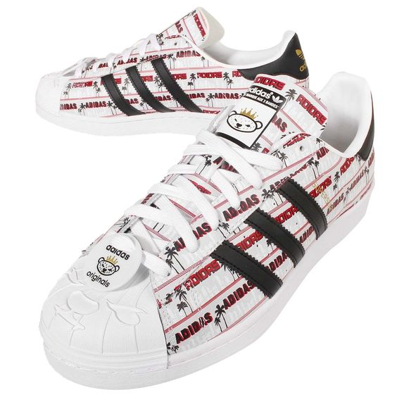 2016 Adidas Superstar Klassisch Originals NIGO Bearfoot Herren Sport Schuhe NIGO…