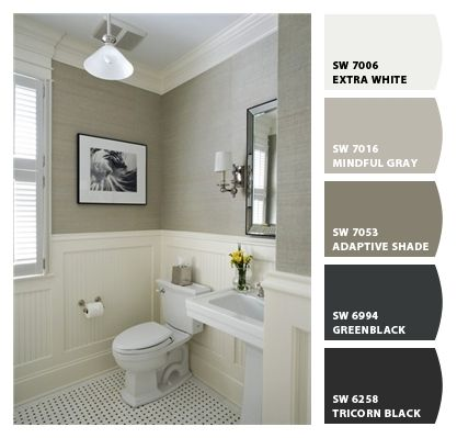 Paint colors mindful gray and chips on pinterest for White chip paint color